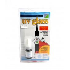 Colla Collante Fotosensibile ai raggi solari UV Glass per vari tipi di materiali compreso cristallo e vetro