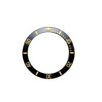 Inserto nero indici oro compatibile ghiera Rolex Submariner 1680-1 RLX