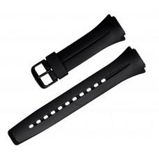 Cinturino 10111935 in gomma casio originale 18-25,5mm W-101-1AVWCF