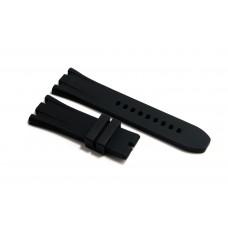 Cinturino in gomma nero per orologio 26mm compatibile Audemars Piguet ROYAL OAK 15400 15300