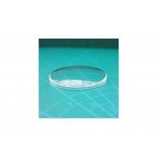 VERLUX Vetro bombato in plastica acrilico per orologio plexiglass tondo n. 268 26,8mm