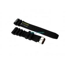 Cinturino in pvc per orologio subacqueo ansa 22mm tipo citizen seiko wind gomma pw22