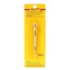 Cacciavite di precisione 0,60mm bianco in blister acciaio per orologi orologiai