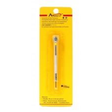 Cacciavite di precisione 0,80mm giallo in blister acciaio per orologi orologiai