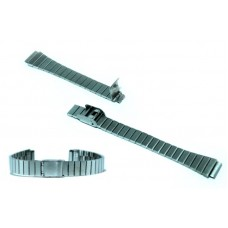 Cinturino in acciaio compatibile con orologi casio lady ansa 12mm la670wa watch strap