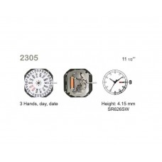 Meccanismo o movimento al quarzo per orologi miyota 2305 made in japan orologio watch