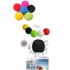 Cassa speaker audio dock 3.5mm giallo mini ball per iphone ipod mp3 smartphone