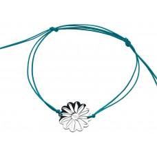Breil collana donna tribe my flower acciaio e cordoncino tj0277 listino 51,99