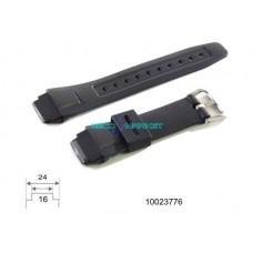 Cinturino 10023776 in gomma casio originale ansa 16-24mm G-2600-1M 1VM GT-2000-1