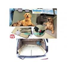 Coperta telo per auto impermeabile per cani gatti petzoom loungee tappeto fodera