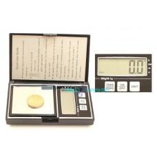 Bilancia bilancino tascabile 0,1g-500g orafi gioiellieri display digitale