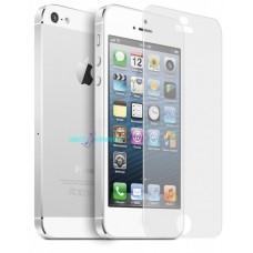 4x pellicole iphone 5 ottima qualita' protezione (2 fronte  2 retro) trasparente