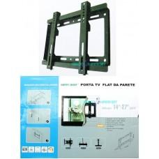 """Staffa da parete per tv lcd plasma da 14"""" a 27"""" hps6003 supporto muro max 29kg"""