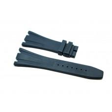 Cinturino in gomma grigio per orologio 28mm compatibile Audemars Piguet ROYAL OAK 41mm silicone caucciù