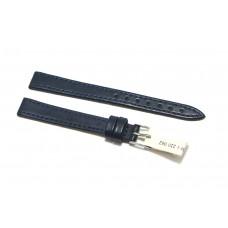 Morellato cinturino per orologio in vera pelle liscia blu 12mm piatto