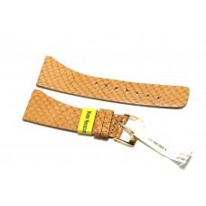 Morellato cinturino per orologio in vera pelle stampa pitone beige 26mm piatto