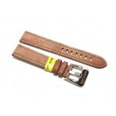 Morellato cinturino per orologio in vera pelle liscia rosa antico scuro 18mm