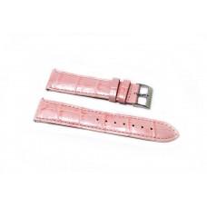 Cinturino orologio guess originale pelle rosa perla stampa coccodrillo ansa 20mm
