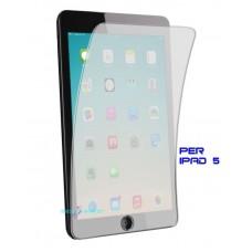 2x pellicole ipad 5 apple protezione schermo lcd 3 strati trasparenti antirifles