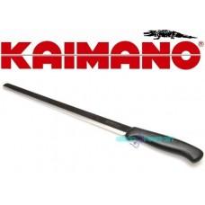 Kaimano coltello prosciutto lama acciaio inox temperato rostfrey stainless s.i