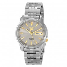 Seiko 5 vintage orologio automatico 21 jewels daydate unisex snkk67k1 automatic