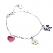 Liu jo luxury bracciale in argento e charms blj349 listino 49,00 liujo