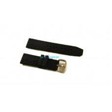 Cinturino in gomma nero per orologio ansa 22mm battistrada silicone caucciu' 645