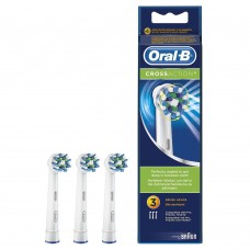 3 testine oral-b spazzolini di ricambio crossaction originali braun testina cross action