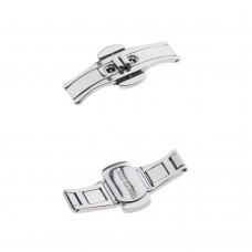 Chiusura con pulsanti fibbia farfalla orologio acciaio 4,2mm 36mm mis 6 deployante
