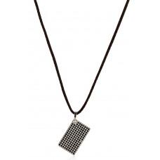 Collana uomo gioielli Morellato Black & White SAB01 listino 49,00